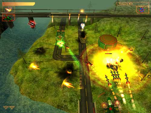 The game AirStrike 3D:Operation W.A.T. download free version