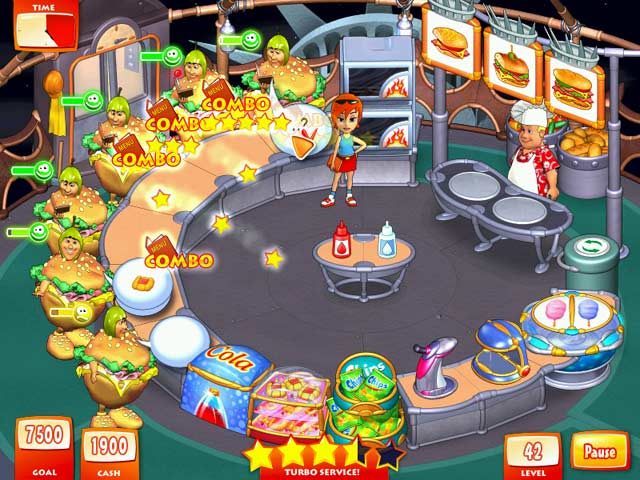 Play Game Online Turbo Pizza