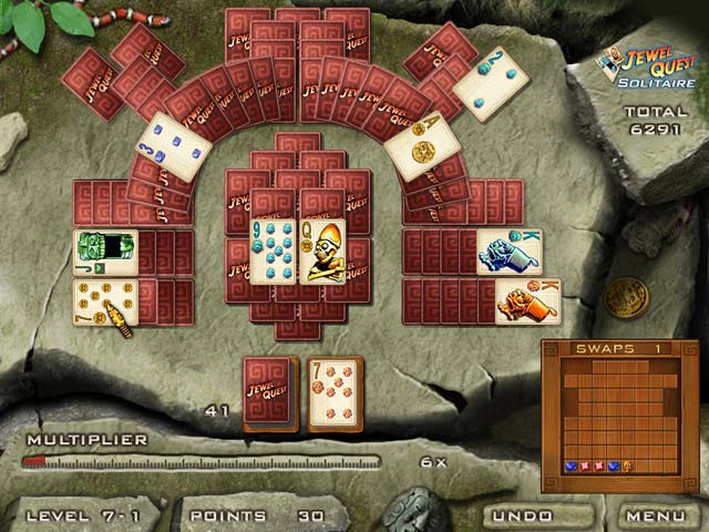 play free online jewel quest solitaire 3