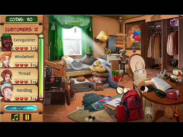 Game Hidden Object: Home Makeover 2 free download Hidden Object