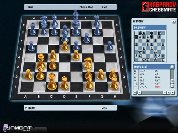 إلى عشاق الشطرنج وبس .....Game Kasparov Chessmate