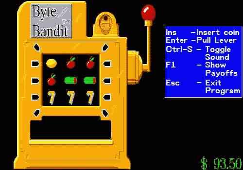 игровые автоматы однорукий бандит
